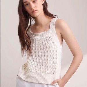 NWOT Aritzia Wilfred Caumont knit tank - medium